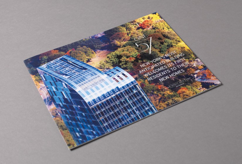 Property Branding for One57, Brochure 1- Wordsearch