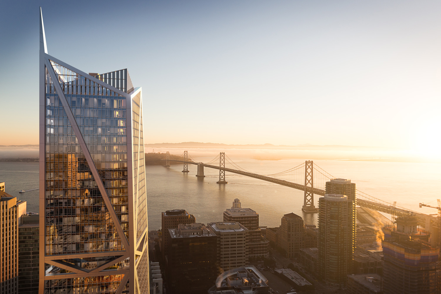 Property Branding for 181 Fremont, Rendering 1- Wordsearch