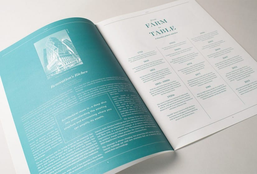 Property Branding for The Sorting House in New York, Brochure 3 - Wordsearch