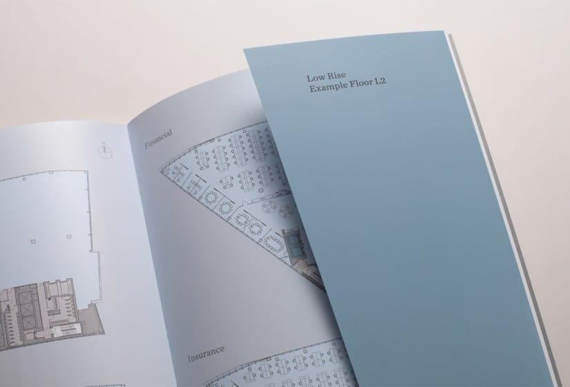 Property Branding for The Scalpel, Brochure 3- Wordsearch