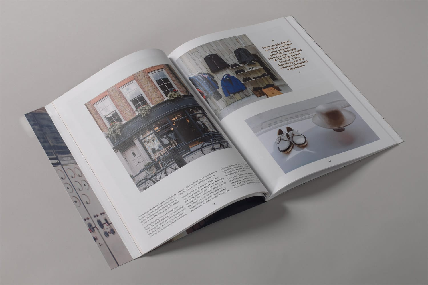 Property Branding for Battersea Power Station Work, Live, Shop, Brochure 7- Wordsearch
