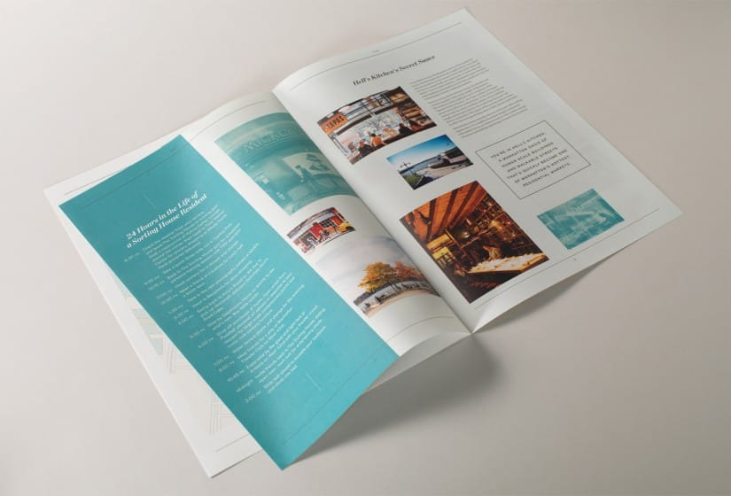 Property Branding for The Sorting House in New York, Brochure 6 - Wordsearch