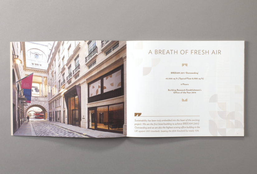 Property Branding for Air Street, Brochure 2 - Wordsearch