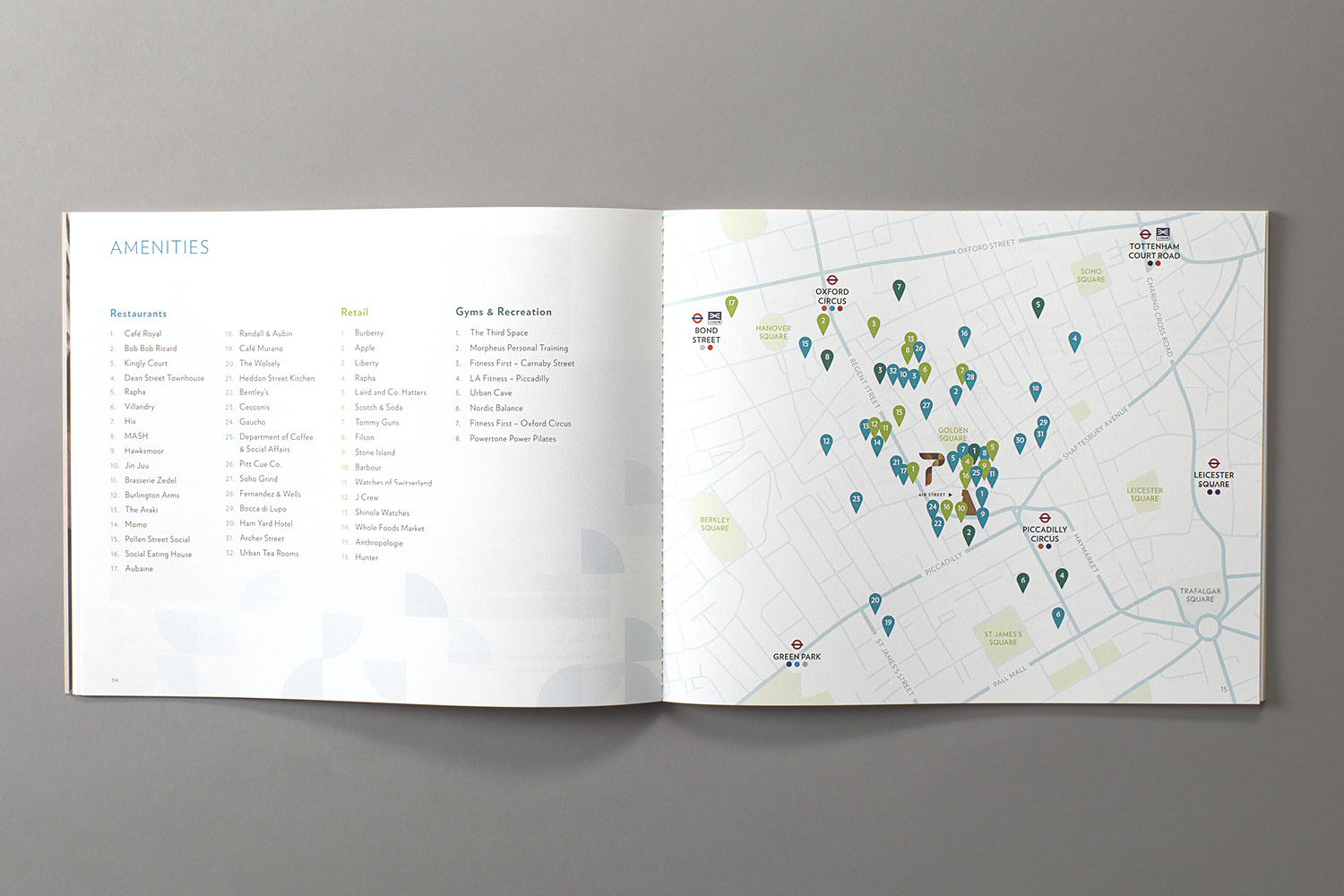 Property Branding for Air Street, Brochure 3 - Wordsearch