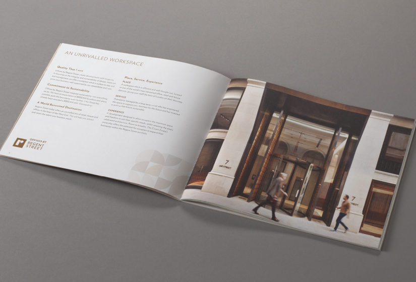 Property Branding for Air Street, Brochure 5 - Wordsearch