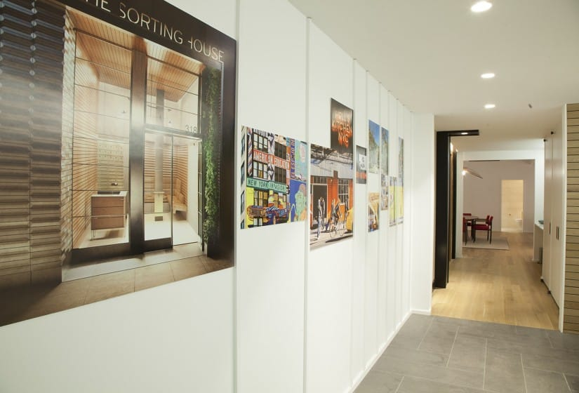 Property Branding for The Sorting House in New York, Sales Suite 4 - Wordsearch
