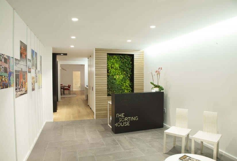 Property Branding for The Sorting House in New York, Sales Suite 1 - Wordsearch