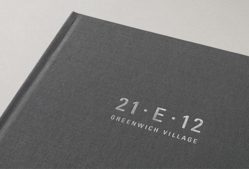 Property branding for 21 East 12, Brochure 02 - Wordsearch