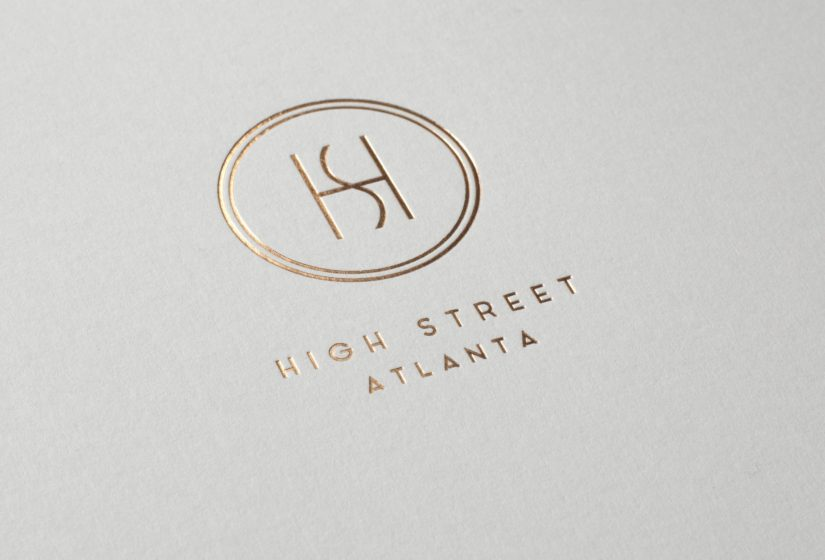 Property branding for High Street Atlanta, Brochure 2 - Wordsearch