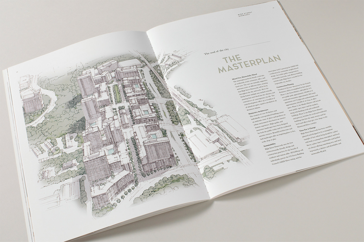 Property branding for High Street Atlanta, Brochure 6 - Wordsearch