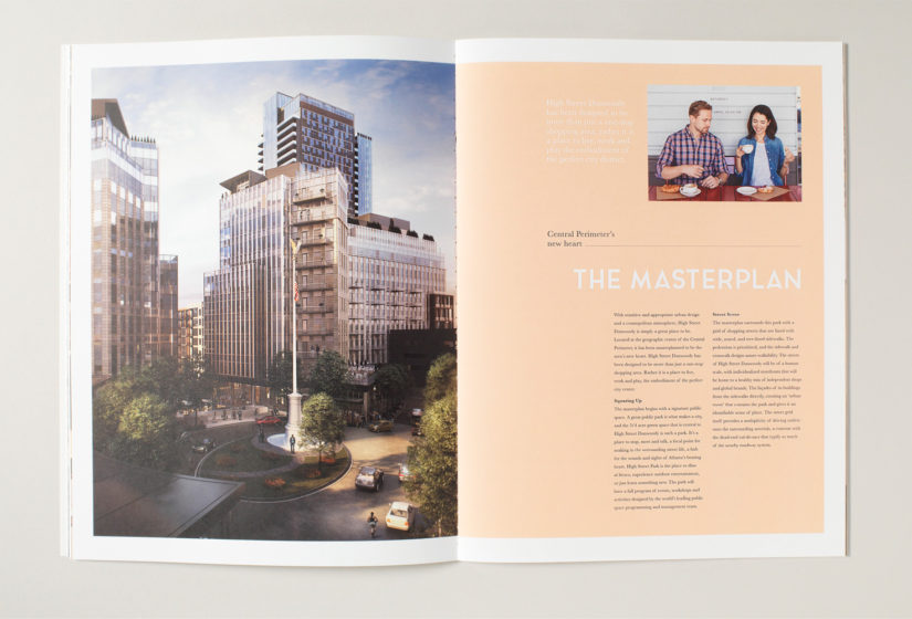 Property branding for High Street Atlanta, Brochure 7 - Wordsearch