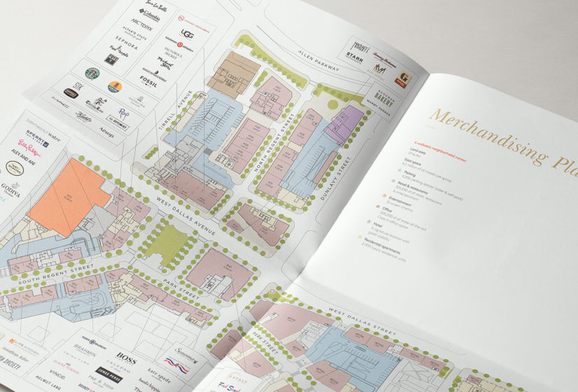 Property Branding for High Street Atlanta, Floorplan 1 - Wordsearch