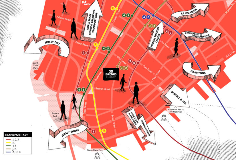 Property Branding Map, 30 Broad 4