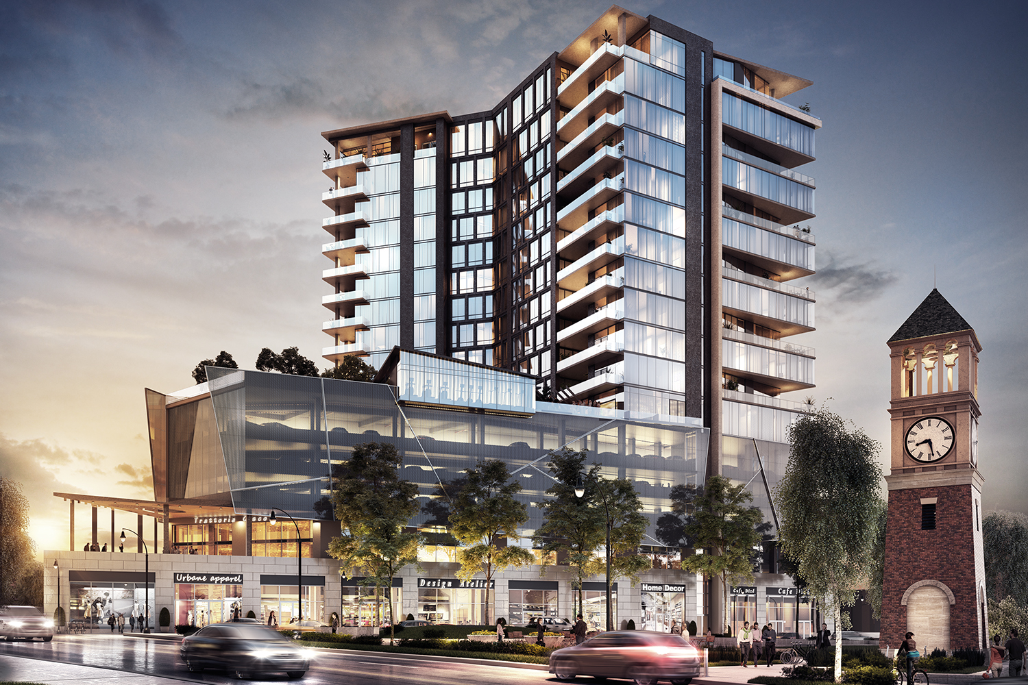 Property Branding for The Charles - Rendering 1