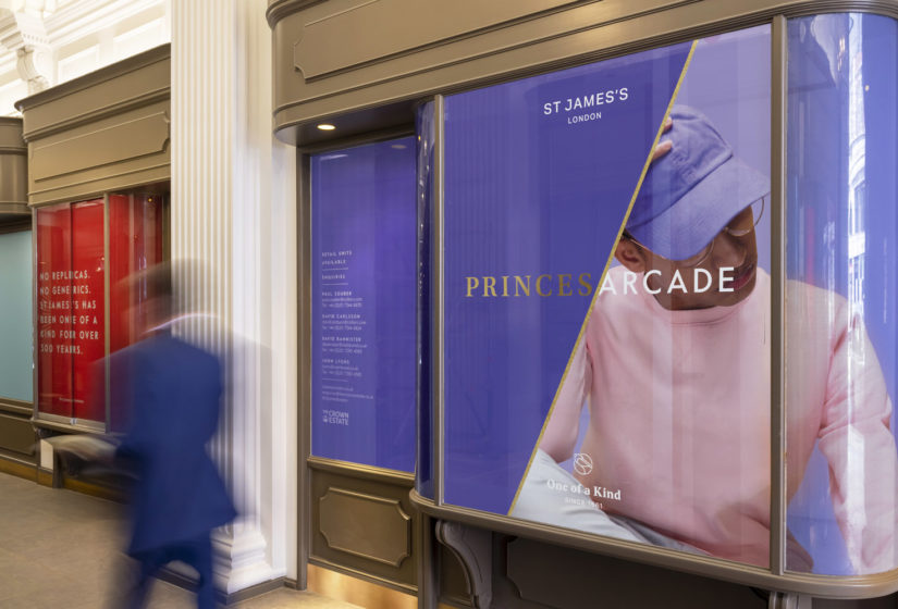 Real estate branding for Princes Arcade 2