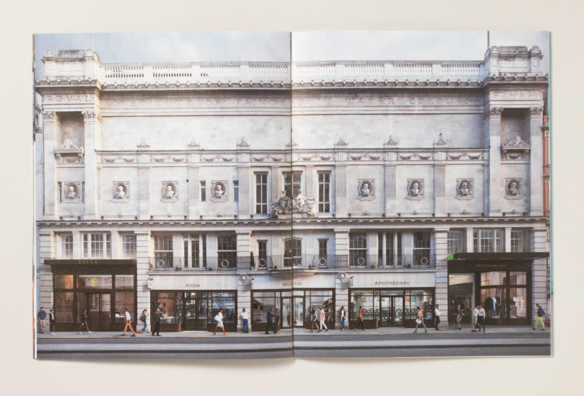 Real estate branding for Princes Arcade 6