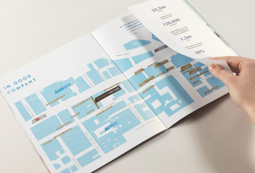 Real estate branding for Princes Arcade 9