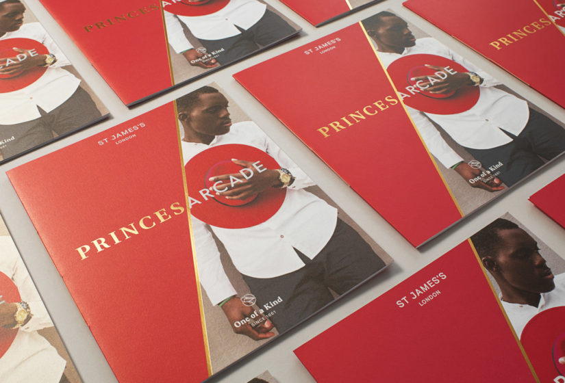 Real estate branding for Princes Arcade 10