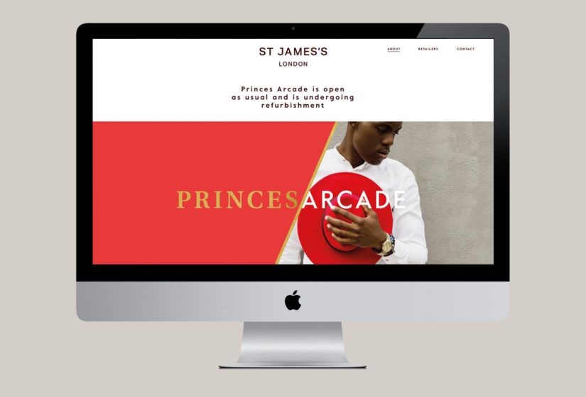 Real estate branding for Princes Arcade 12