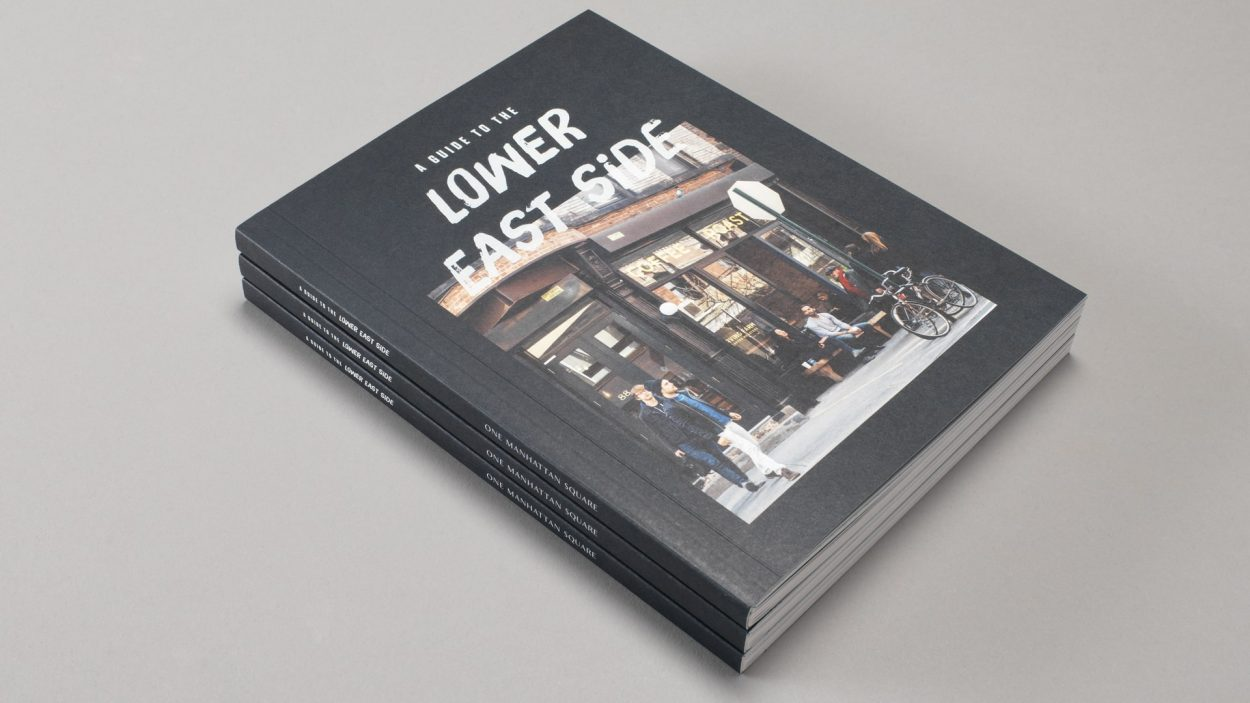 real estate branding for one Manhattan square New York - brochure 2