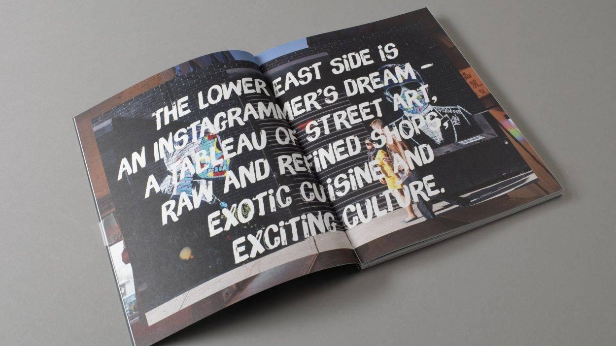real estate branding for one Manhattan square New York - brochure 3