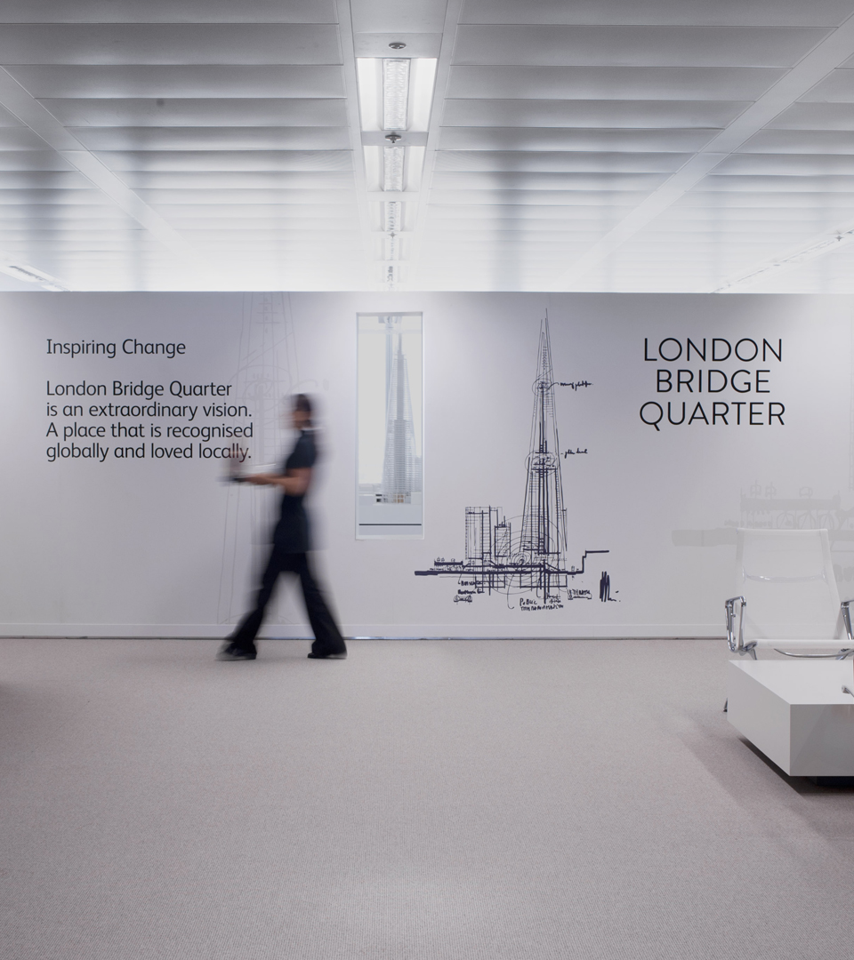 marketing for the shard - london