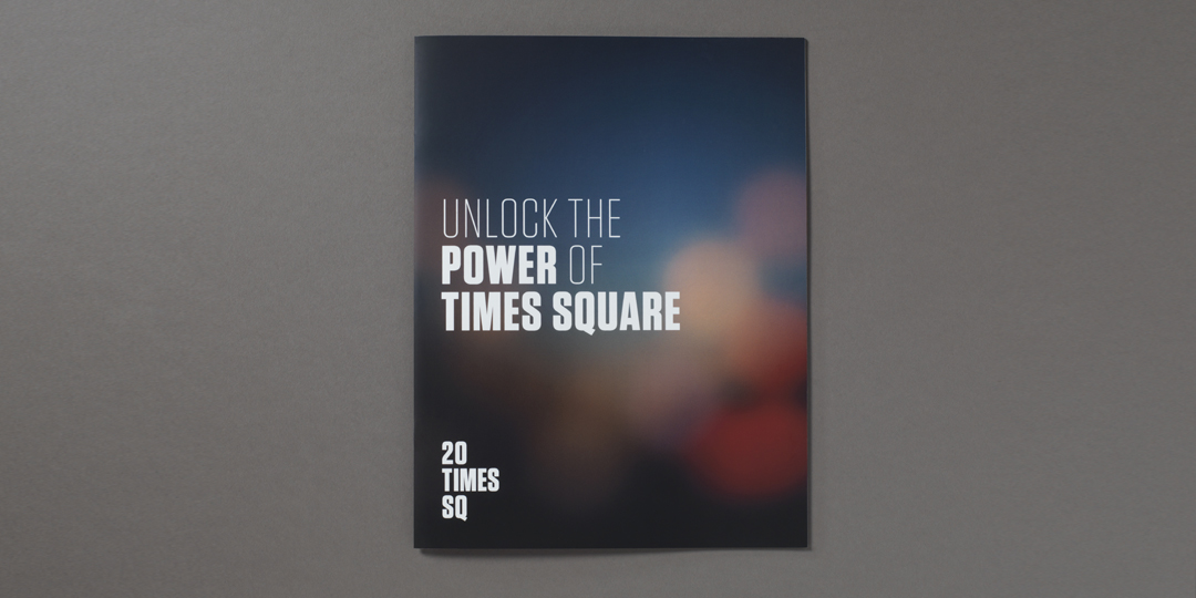 branding for 20 Times Square