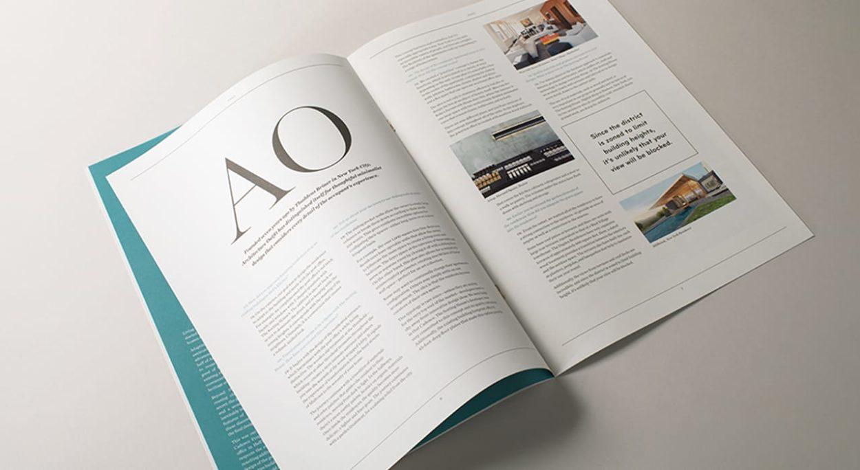 real estate branding for the sorting house- brochure 1