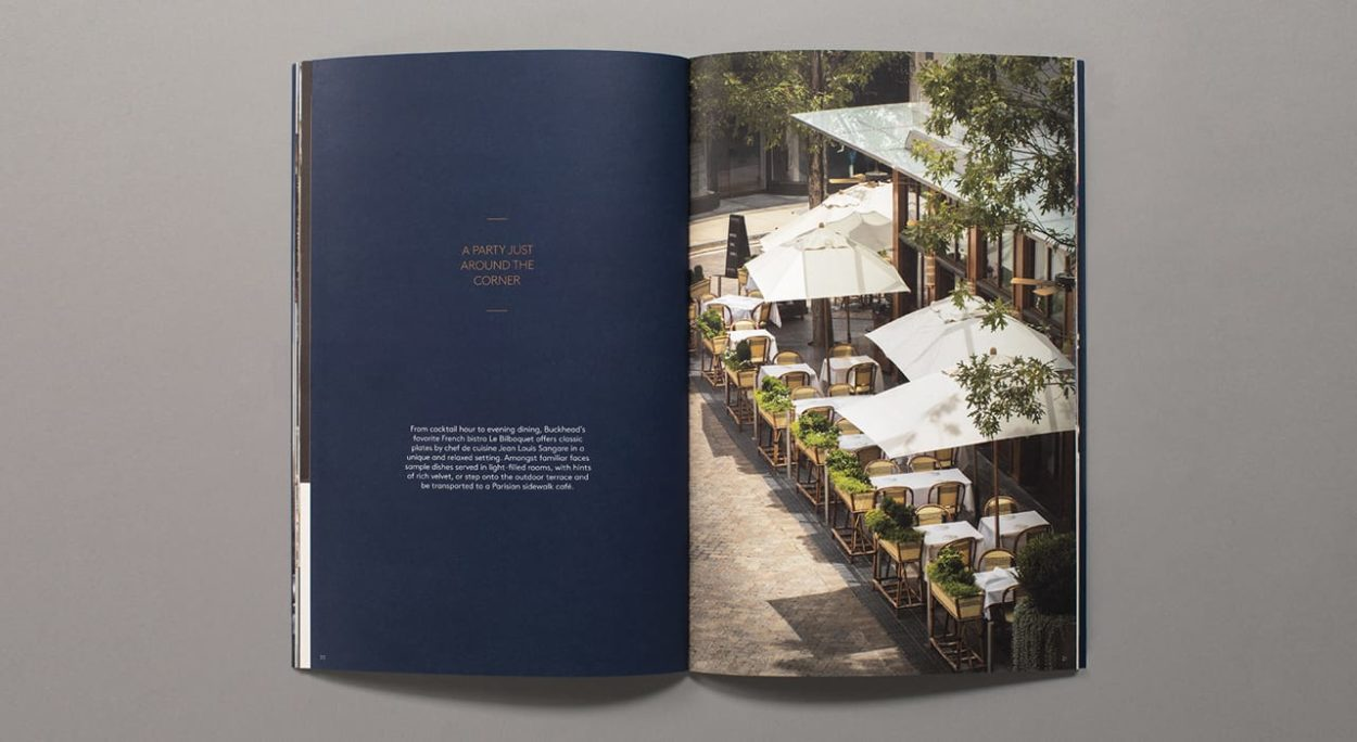 realestate branding for the charles atlanta - brochure 1