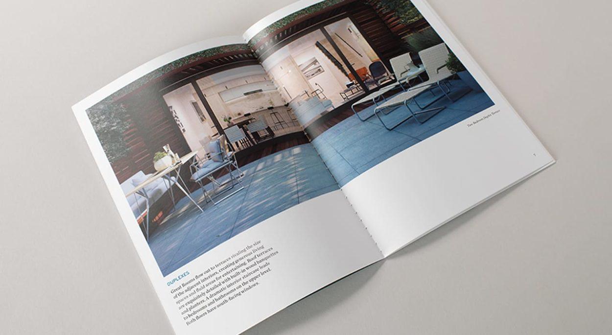 real estate branding for the sorting house- brochure 2