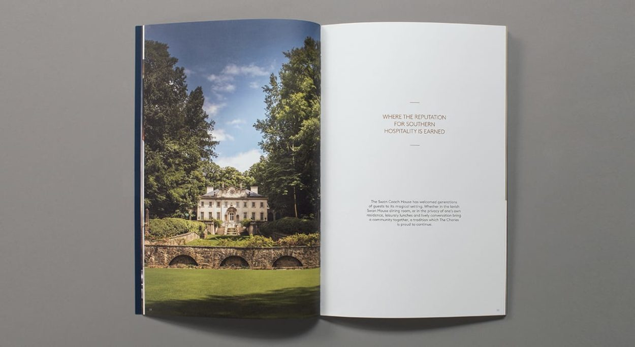 realestate branding for the charles atlanta - brochure 2