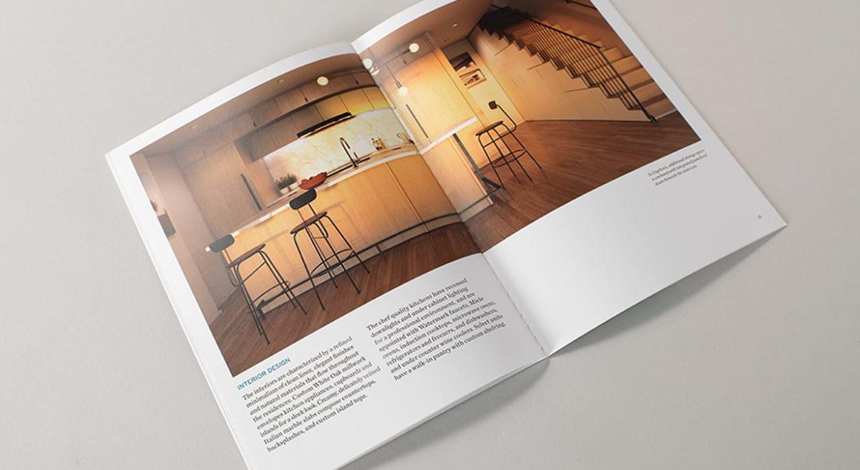 real estate branding for the sorting house- brochure 3
