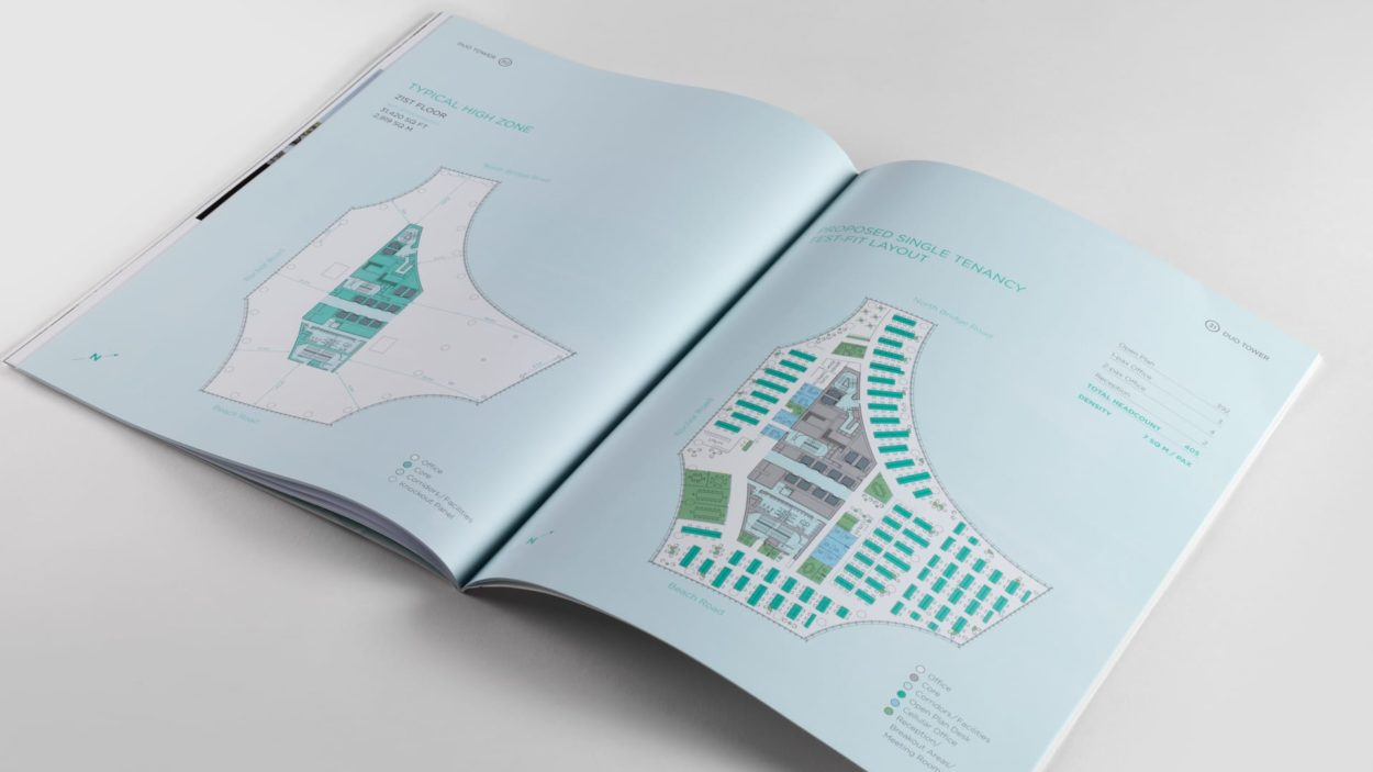 Duo Tower Singapore Branding - brochure 6