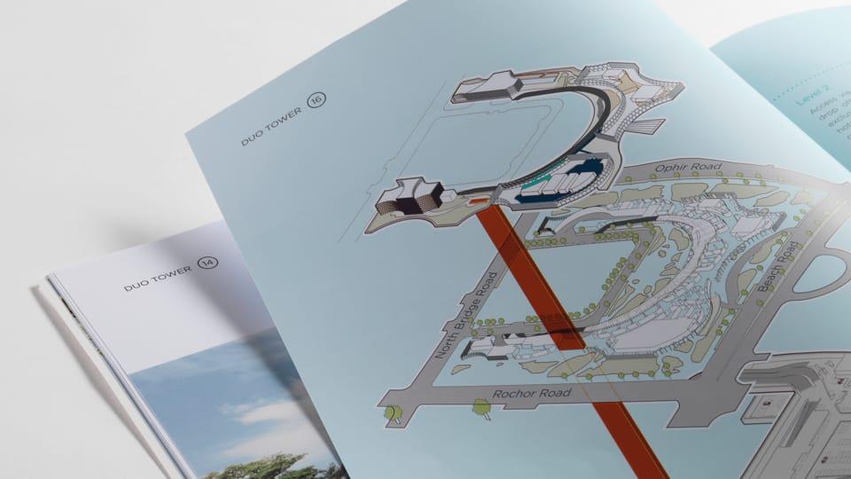 Duo Tower Singapore Branding - brochure 2