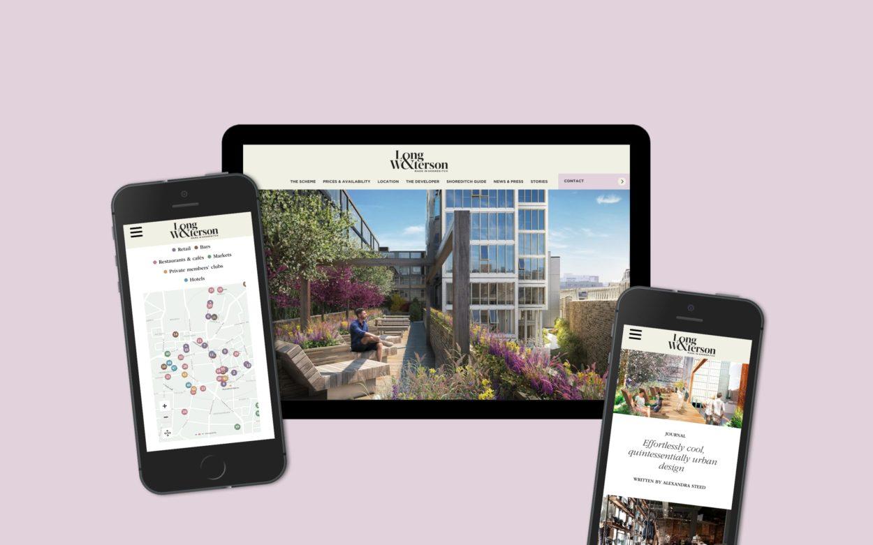 Property Marketing Agency | Wordsearch | Long & Waterson Website
