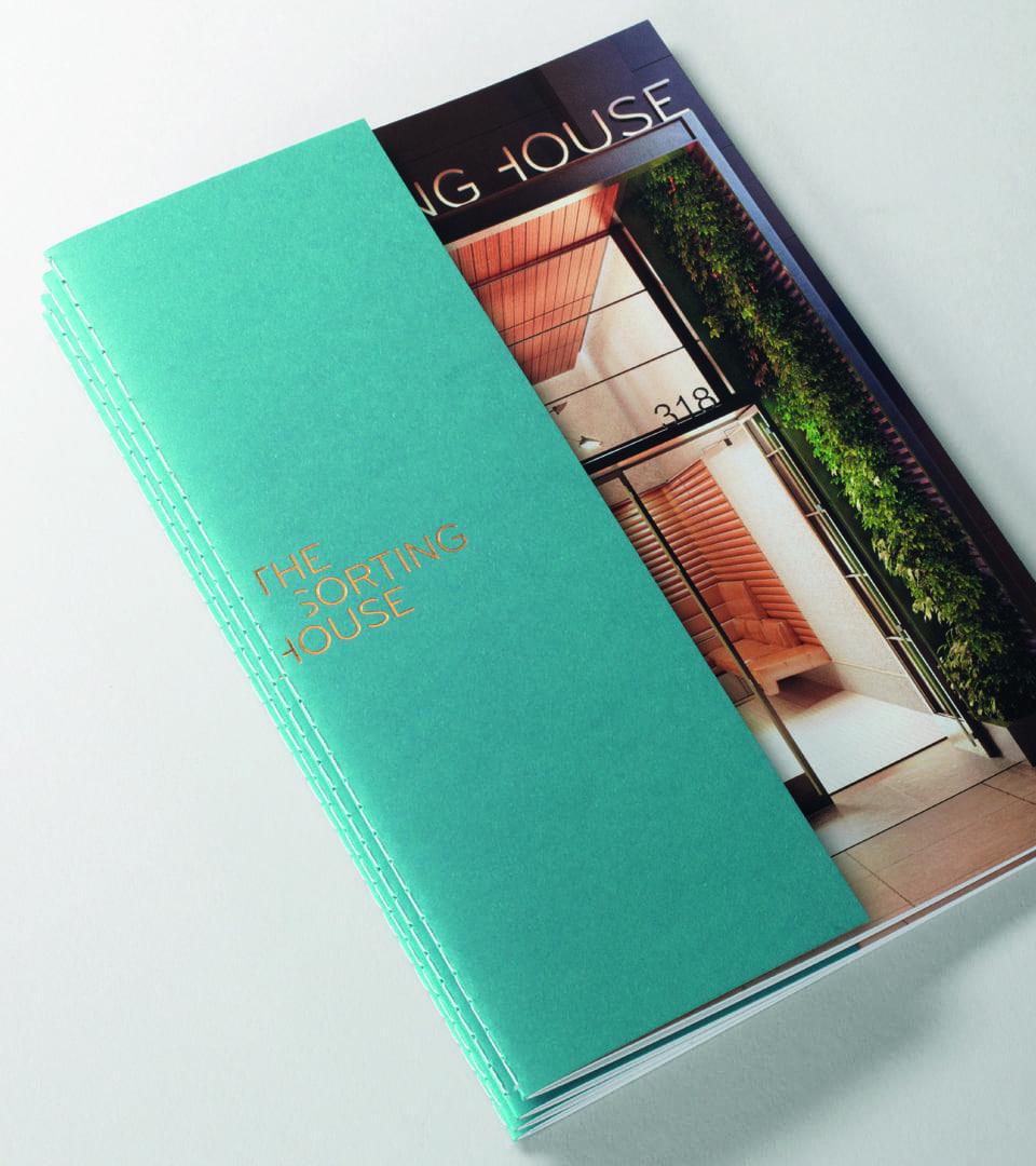 branding for the sorting house - new york