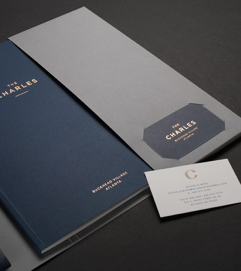 The Charles Property Branding Brochure 2