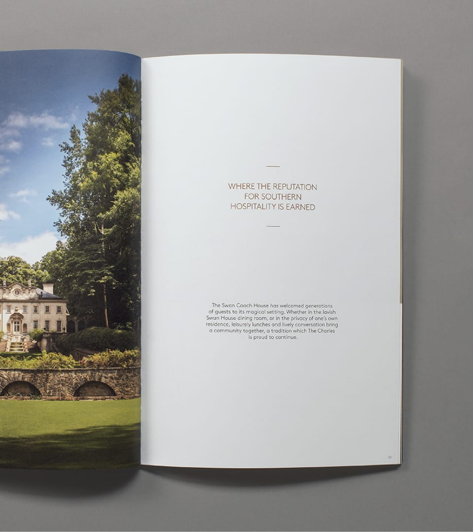 The Charles Property Branding Brochure 3