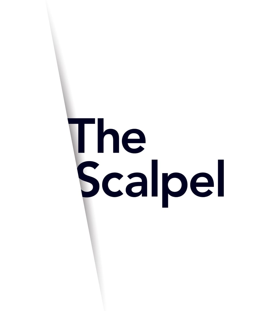 branding for the scalpel london - brochure 1