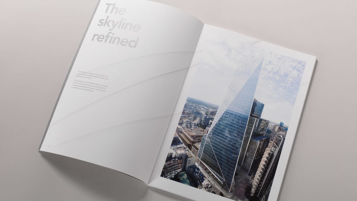 branding for the scalpel london - brochure 7