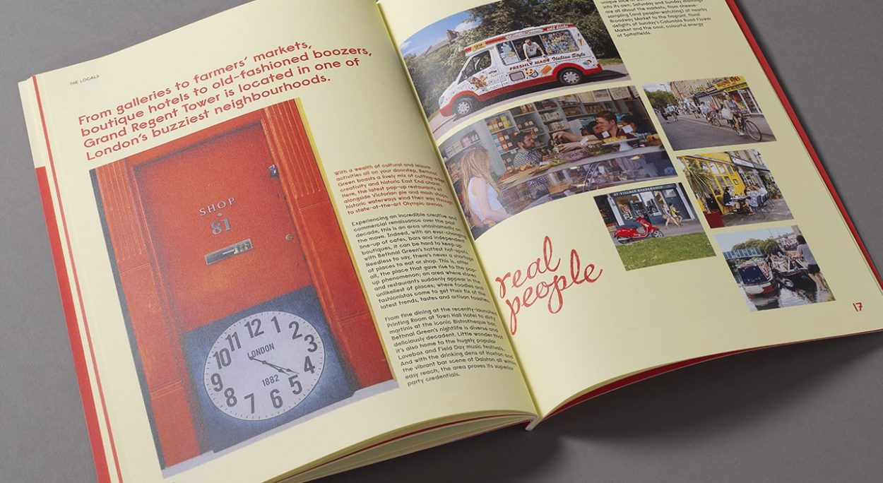 property branding for grand regent tower - brochure 6