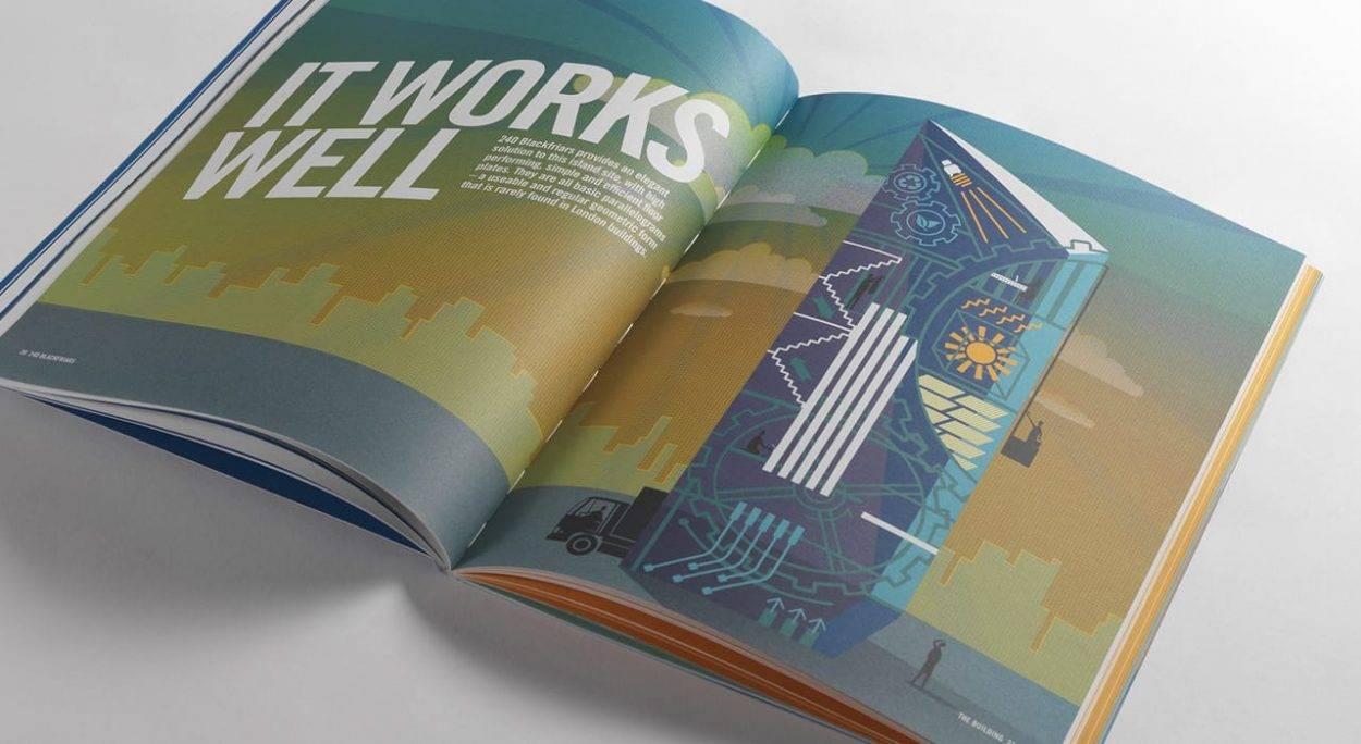 property branding for 240 Blackfriars London - brochure 3
