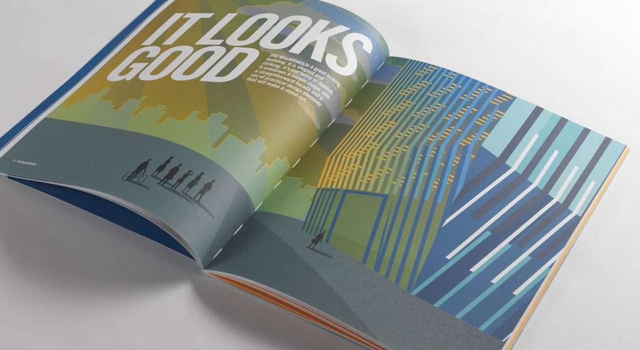 property branding for 240 Blackfriars London - brochure 4
