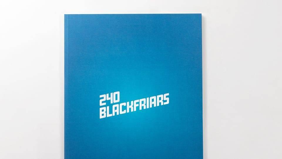 property branding for 240 blackfriars london - brochure 1