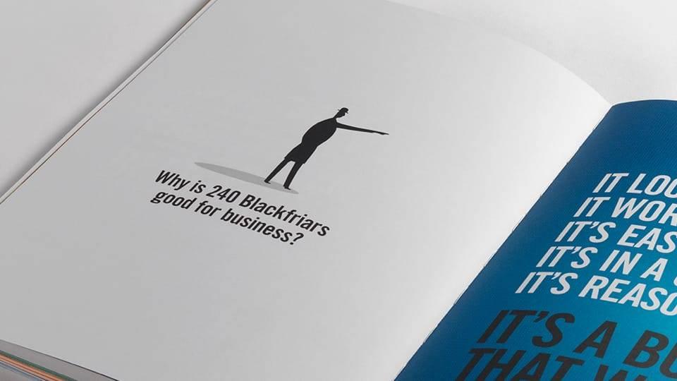 property branding for 240 blackfriars london - brochure 2