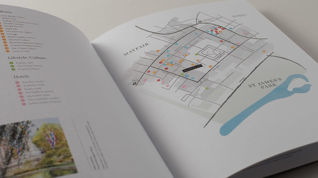property marketing for 33 bury street london - brochure 2