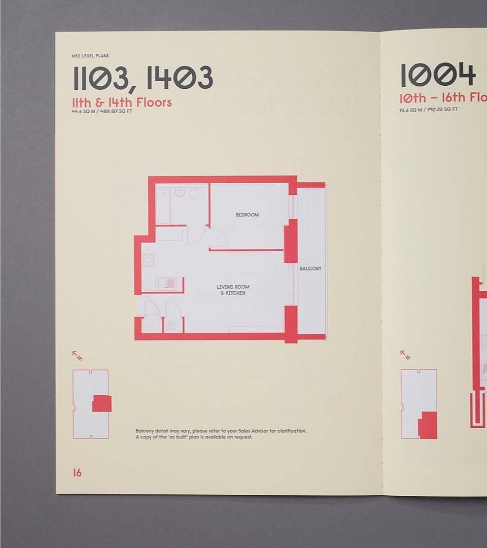 property branding for grand regent tower london - brochure 4