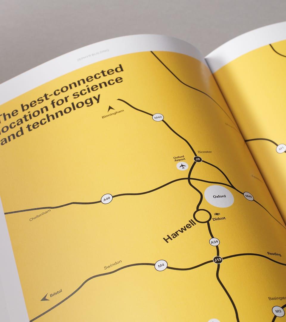 science branding for harwell - brochure 3