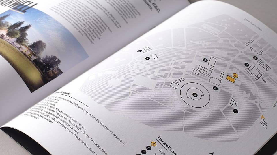 science branding for harwell - brochure 5