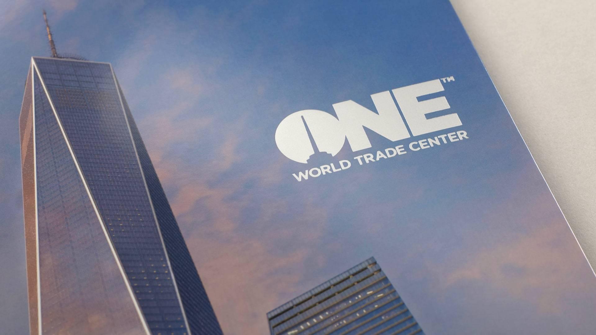 real estate branding for one world trade center New York - brochure 4